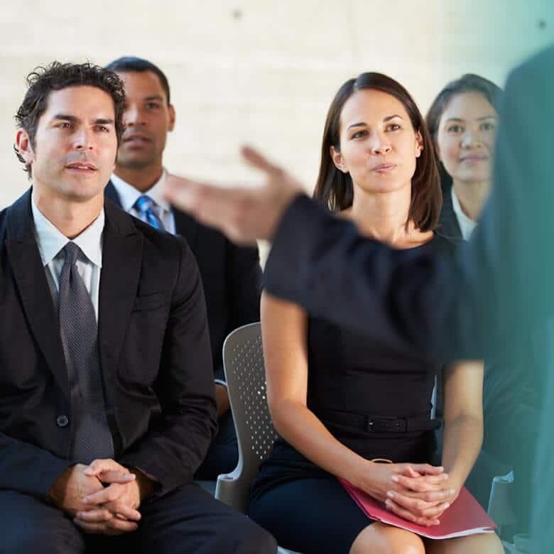 Public speaking training services